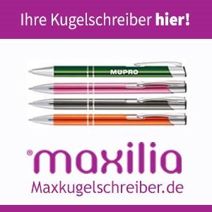 Kugelschreiber bei Maxilia bedrucken