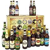 Bier Adventskalender Welt und Deutschland + 24 Flaschen Bier + Geschenk mit Bieren aus aller WELT & DEUTSCHLAND + Bieradventskalender