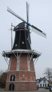Windmühle in Winschoten (NL)