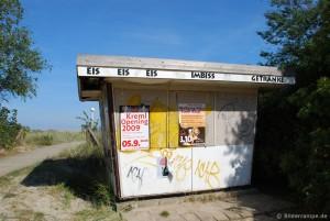 Kiosk am Strand von Boltenhagen