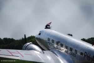 KLM DC-2 auf dem Bremer Flughafen