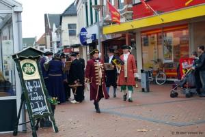 Kostümierte in Winschoten