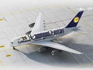 A380 | Bild: Lufthansa