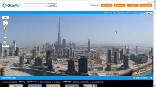 GigaPan: Dubai in 45 Gigapixel