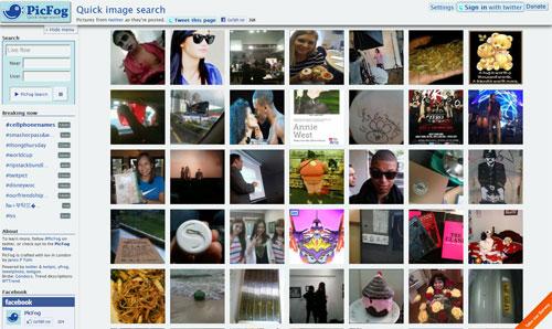 PicFog Homepage