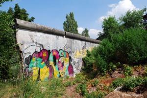 Mauerreste am Friedhof in der Liesenstraße