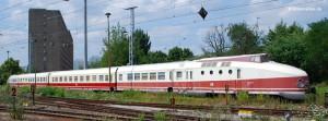 Einer der letzten VT 18.16, abgestellt am Bahnhof Berlin-Lichtenberg