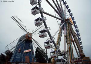 Riesenrad auf dem Oldenburger Kramermarkt