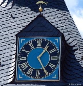 Uhr am Rathaus Wernigerode