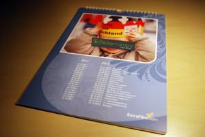 Der fertige Fotokalender