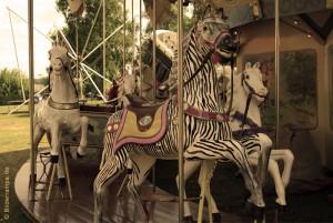 Karussell mit Pferden