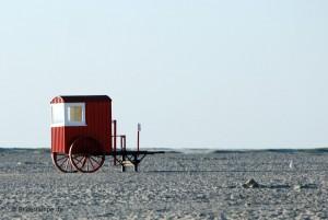 Strandwagen auf Borkum