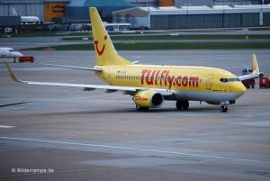Boeing 737 mit Winglets von TUIfly