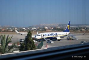 Boeing 737-800 von Ryanair am Airport Alicante