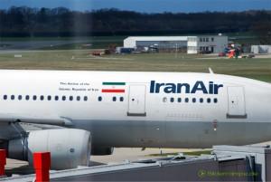 IranAir auf dem Airport Hamburg