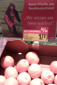 Orangen aus Norddeutschland