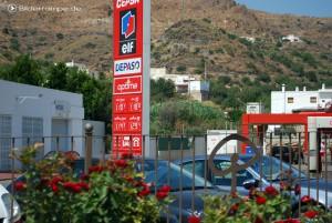 CEPSA elf Tankstelle