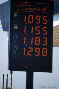 Tankstelle in Spanien