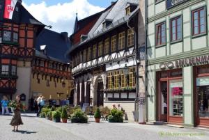 Platz vor dem Rathaus von Wernigerode