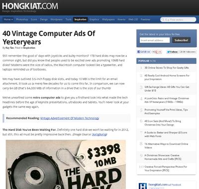 Homepage HONGKIAT.com