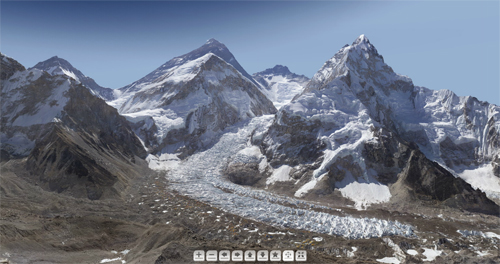 Foto vom Mount Everest