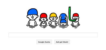 Google Doodle zum Sommeranfang
