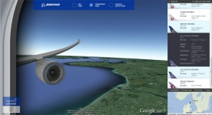 Dreamliner Flight Tracker - Passagiersicht