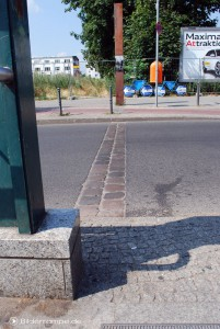 Grenzverlauf in der Bernauer Straße