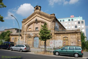Reste des Berliner Nordbahnhof