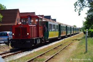 Gleise der Borkumer Kleinbahn