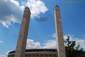 Türme am Berliner Olympiastadion