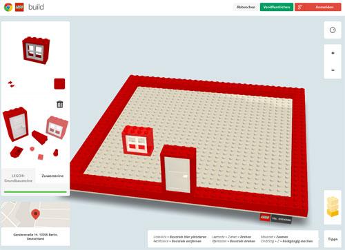 Lego mit Google