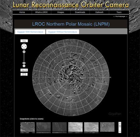 LROC Homepage