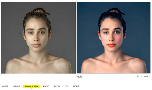 Esther Honig: Before and After