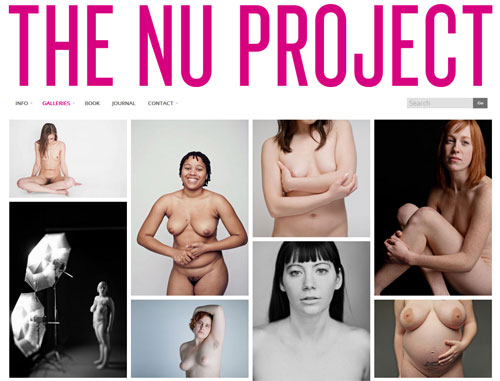 Screenshot: The Nu Project