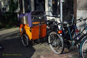 Kindertransport-Fahrrad
