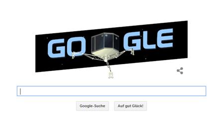 Google Doodle für Philae