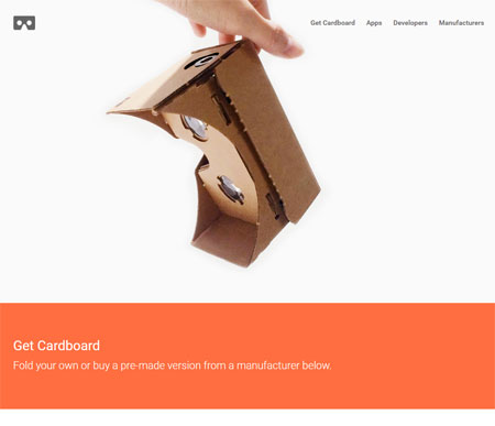 Screenshot VR-Brille Cardboard