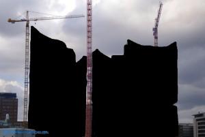 Zensierte Elbphilharmonie in Hamburg