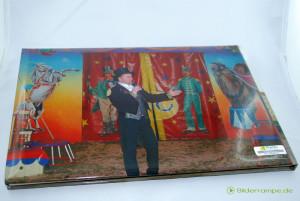 Die Rückseite des Fotobuchs,mit randlosem Druck des Fotos.
