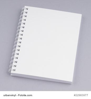 Broschüre mit Spiralbindung