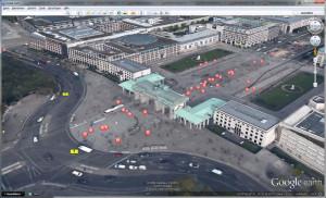 Screenshot von Google Earth