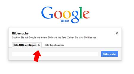 Google Bildersuche URL