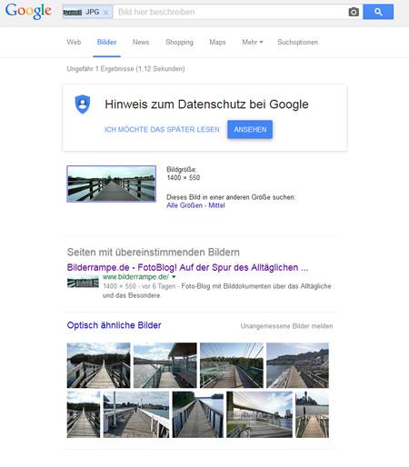 Google Bildersuche Ergebnis