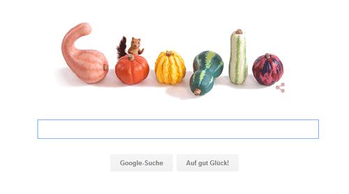 Google Doodle zum Herbstanfang