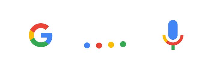 """Das Google """"G"""" allein und die Google-Farben als Symbole"""