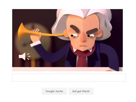 Google Doodle Musikgehör