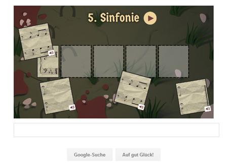 Google Doodle Musik-Quiz