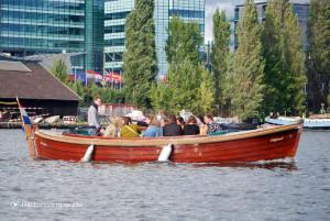Amsterdam: Ein privates Boot