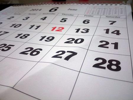 Ein Kalender ohne Foto wirkt langweilig | Foto: Pixabay.com, CC0 Public Domain